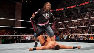 Bret Hart vs. United States Champion The Miz