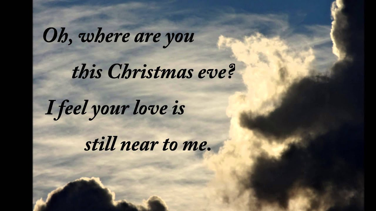 Grief and Holidays: Where are you this Christmas eve? - YouTube