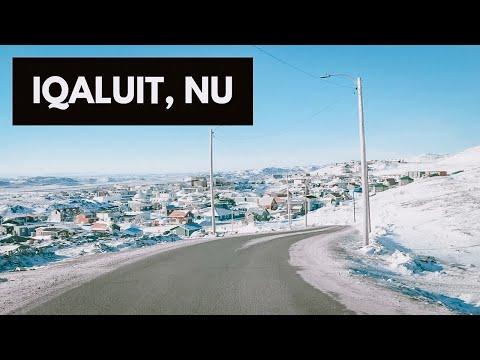 DRIVNG AROUND IQALUIT, NUNAVUT