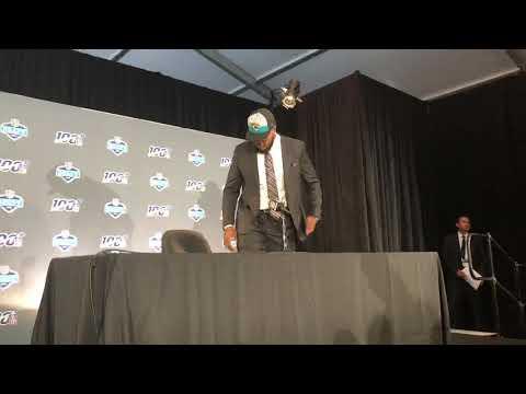 Jawaan Taylor Jacksonville Jaguars 2019 NFL Draft Pick Interview