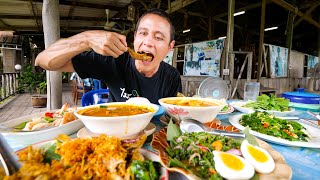 Best TURMERIC FISH FRIES!! Southern Thai Food in Trang, Thailand!
