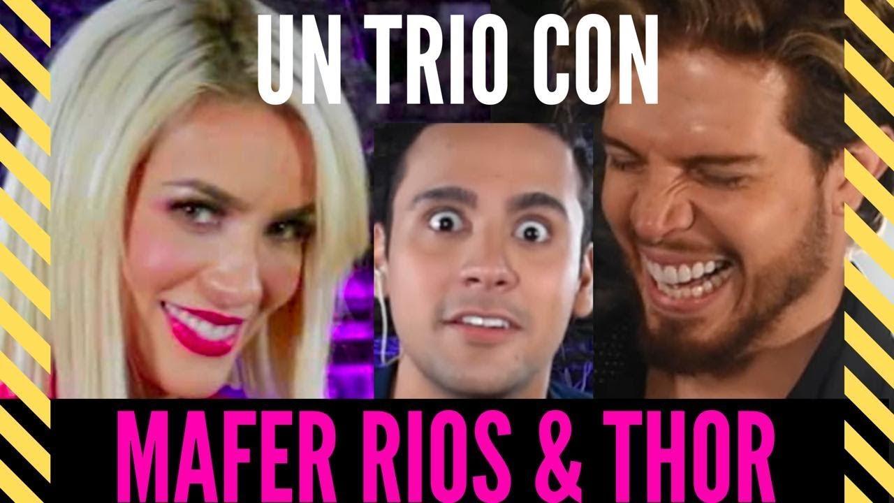 Verdad o Shot: Mafer Ríos vs Thor – ¿Acolitaría un trío?