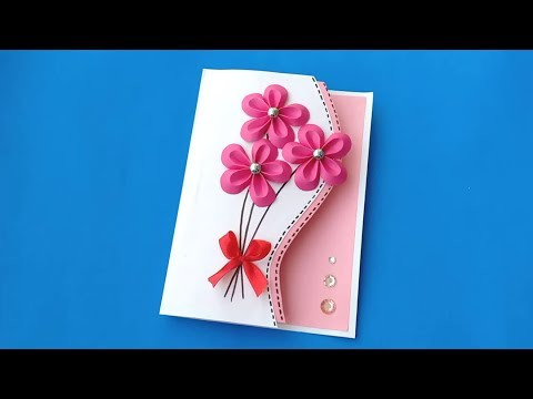 How to make Birthday Card for Best Mom / Handmade easy card Tutorial