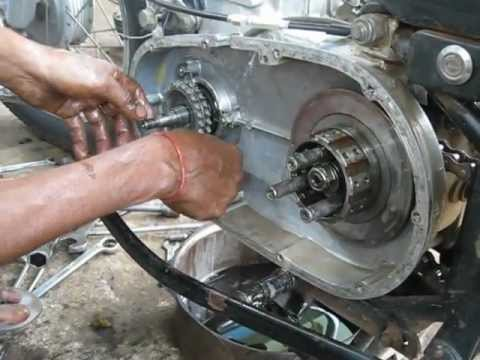 Royal enfield bullet engine disassembly