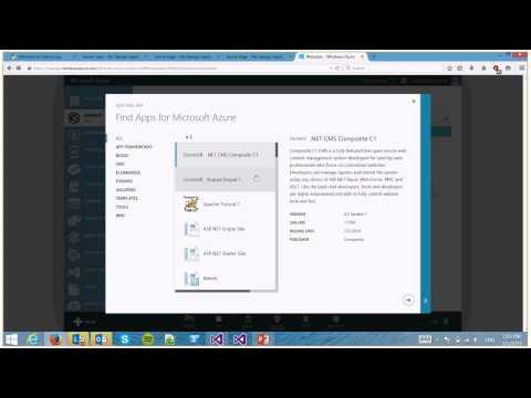 Demo: Running Python 3.4 and Django 1.7.5 in Microsoft Azure