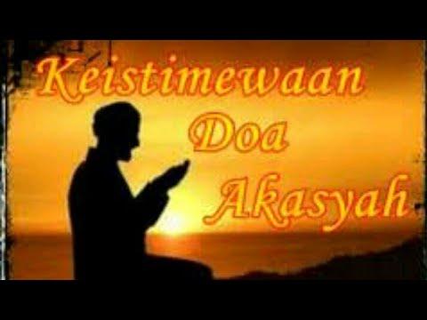 Doa akasyah dan artinya