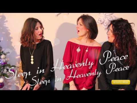 SILENT NIGHT  | Acoustic Cover (Lyric Video) 🎅🏼 Bottega Della Musica 🎅🏼