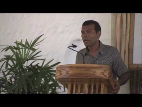 President Nasheed of the Maldives: Carbon Neutral Nation