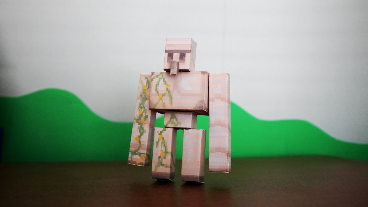 Papercraft Amazing Man Spider Minecraft