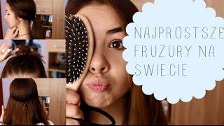 BACK TO SCHOOL-Najprostsze fryzury na świecie - 4 Easy Hairstyles {short&long}