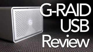 G-Technology G-RAID USB Hard Drive Review