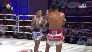 แสนชัย พี.เค.แสนชัยมวยไทยยิมส์ vs โฮเซ่ นีโต้ (บราซิล)