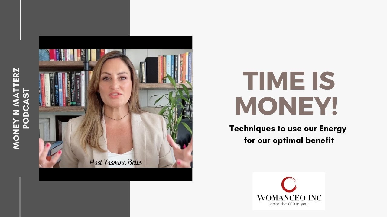 Time is Money! How to use our energy for our optimal Benefit!