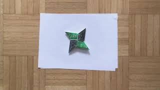 Origami: Ninjatähti