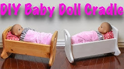 DIY Baby Doll Crib