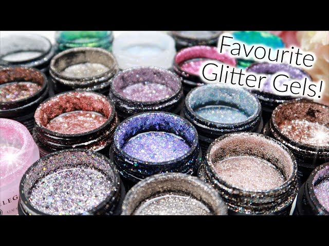 My Current Favourite Light Elegance Glitter Gels!! **Updated**