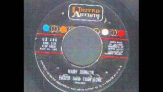 Marv Johnson - Easier Said than done - Soul.wmv