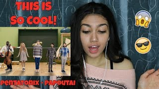 official video papaoutai – pentatonix ft lindsey stirling stromae cover reaction