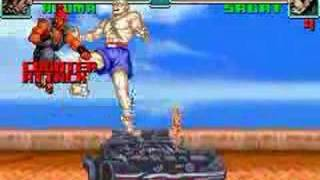 GBA Super Street Fighter 2 Turbo Revival Glitches part 1
