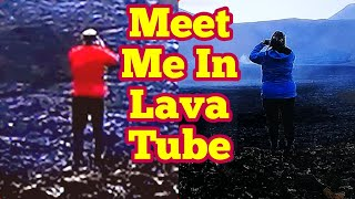 Meet Me In Lava Tube! /Lava Boy Meets Lava Girl/Saucy Romance In Hot Volcano /Iceland Fagradalsfjall