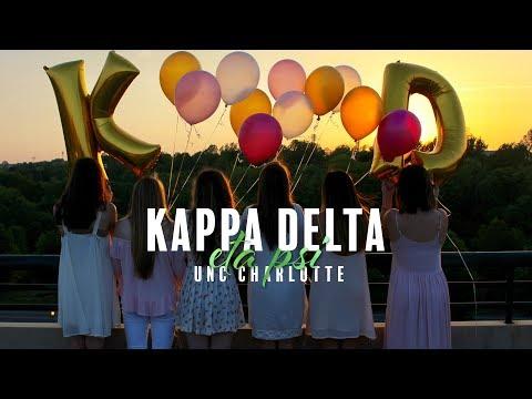 UNC Charlotte Kappa Delta Recruitment Video 2017