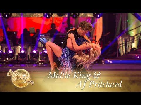 Mollie King & AJ Pritchard Salsa to 'Súbeme La Radio' by Enrique Iglesias - Strictly 2017