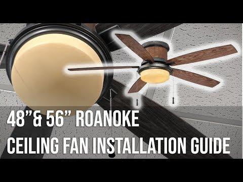 on hampton bay roanoke ceiling fan wiring diagram