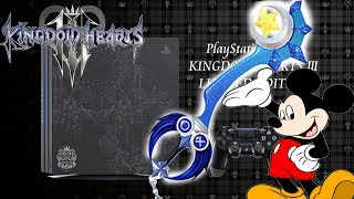 Kingdom Hearts 3 News: Digital Preorder Bonuses & PS4 Pro Limited