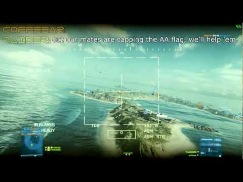 ☼ Battlefield 3: Wake Island Epic Heli Gameplay