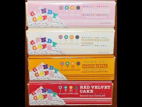 Dylan's Candy Bar Vanilla Cupcake, Marshmallow Crème, PB Caramel & Red Velvet Candy Bar Review