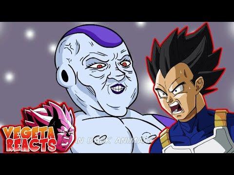 Vegeta Reacts To Dragon ball Super Parody Frieza Loves Vegeta