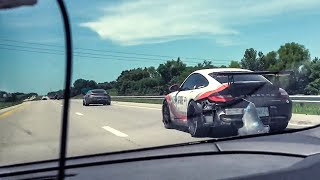 PORSCHE HIGH SPEED DISASTER! * ACE SPADE DAY 2*