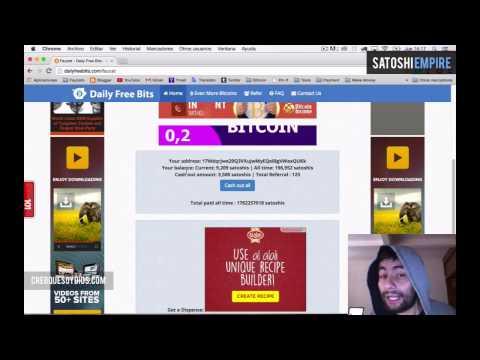 Bitcoin Faucets 2015 - Daily Free Bits