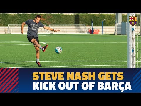 Steve Nash: Messi is the best footballer who has ever played the game