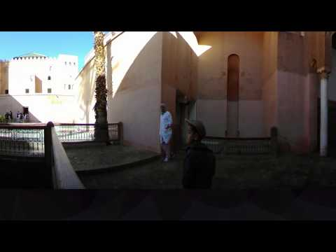 360 Video Saadian Tombs Marrakech
