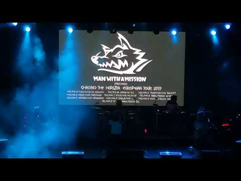 Man With A Mission - Dive   Moscow 14.03.2019