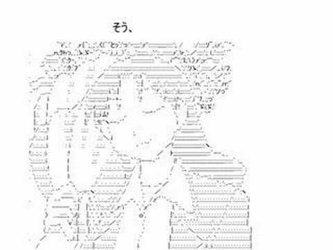 Azumanga Daioh - ASCII Dance (Princess Bride)