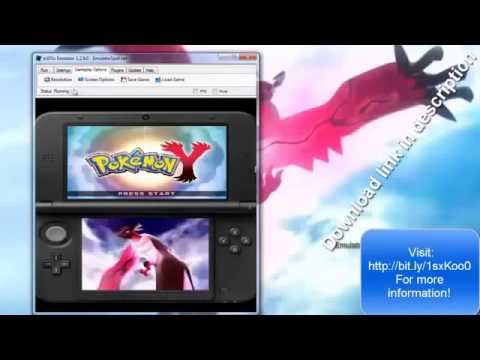 pokemon x and y 3ds rom free download