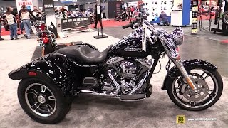 2015 Harley-Davidson Freewheeler Trike Bike - Walkaround - 2014 New York Motorcycle Show