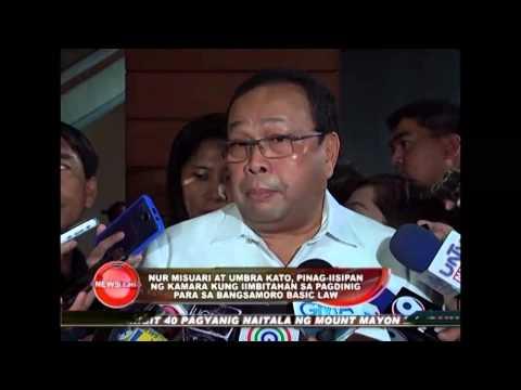 Congress to invite Nur Misuari and Umbra Kato for Bangsamoro Baisc Law hearing