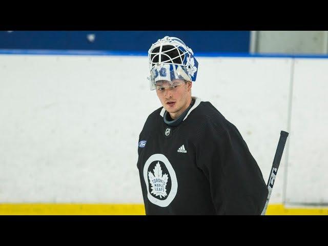 f6b3f303e2e Leafs  Frederik Andersen  ready to go