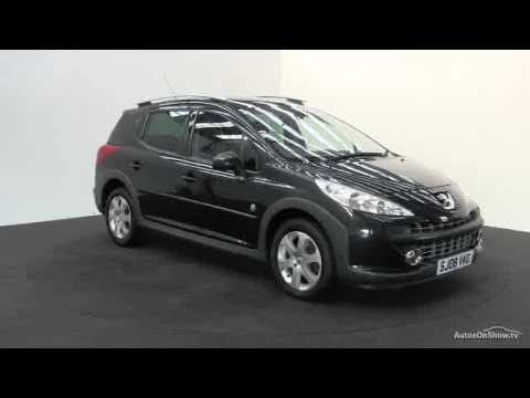 2008 peugeot 207 sw outdoor youtube. Black Bedroom Furniture Sets. Home Design Ideas