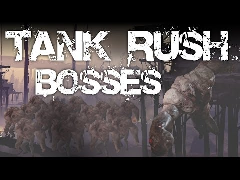 Left 4 Dead 2 - Tank Rush Mod With Bosses