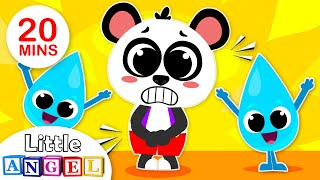 Baby Panda Goes to Potty | Healthy Habits Songs for Kids | Nursery Rhymes by Little Angel
