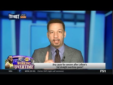 Chris Broussard HEATED Any cause for concern after LeBron's 3rd straight overtime game?