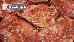 Крехки свински пържоли на фурна - лесни български рецепти? (епизод 69)