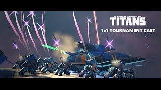 Planetary Annihilation Titans -  1v1 Tournament Cast - 4 Competitive 1v1 Games