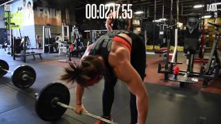 DANA LINN BAILEY | TRYING CROSSFIT 1st ATTEMPT @ GRACE 101915