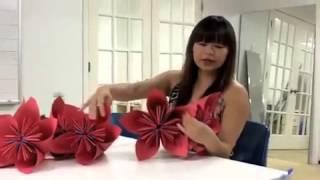 Модульное оригами цветов онлайн обучение