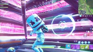Marshmello x Ninja Fortnite Duos - World Cup Practice Best Moments   Put Yo Hands Up x Slushii